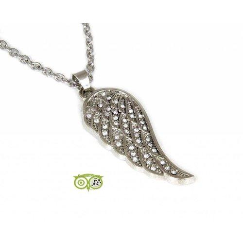 Angel Wing - Engelen Vleugel - Crystal hanger