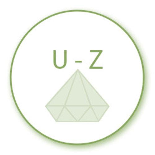 Edelsteen soorten U - Z