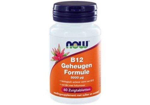 Now B12 Geheugenformule 5000ug 60 tabl.