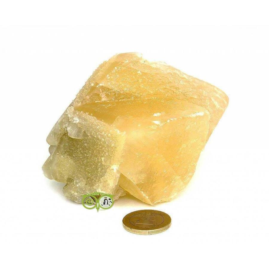 Honing Calciet Cluster 608 gram-8