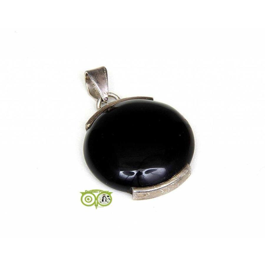 Onyx edelstenen hanger ONY-RM-6-8-1