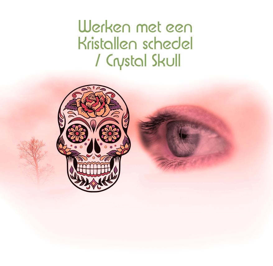 Hoe werk je met een kristallen schedel / crystal skull ? | Verkoop van Crystal skulls |  Workshop Crystal skulls |  Verkoop kristallen schedels | Workshops Kristallen schedels