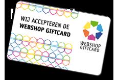 Acceptant van Webshop Giftcard | Betaalmethode Webshop Danielle Forrer | Wieringerwerf | Noord-Holland | Hollands Kroon