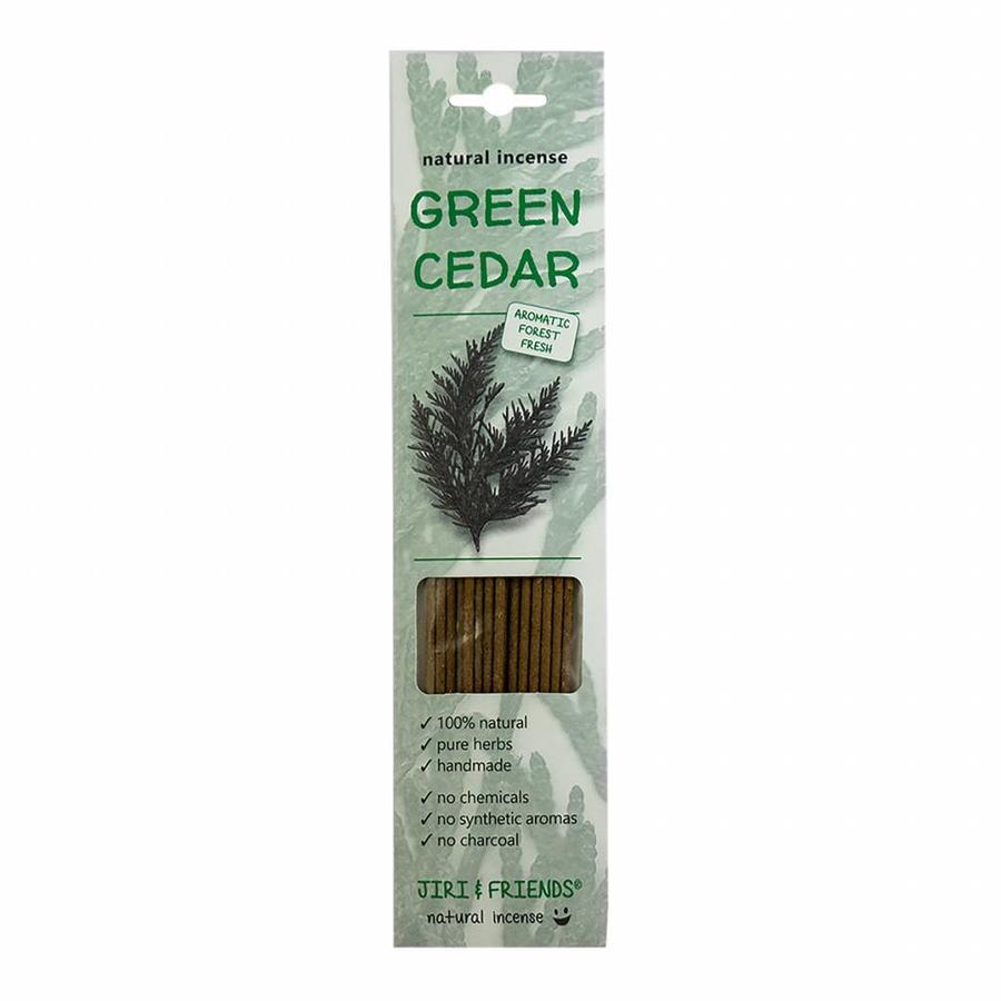 GREEN CEDAR WIEROOK 100% natuurlijk ( Jiri and Friends )-1