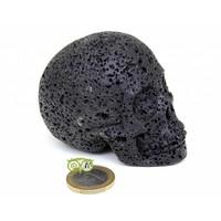thumb-Lavasteen schedel 253 gram-1