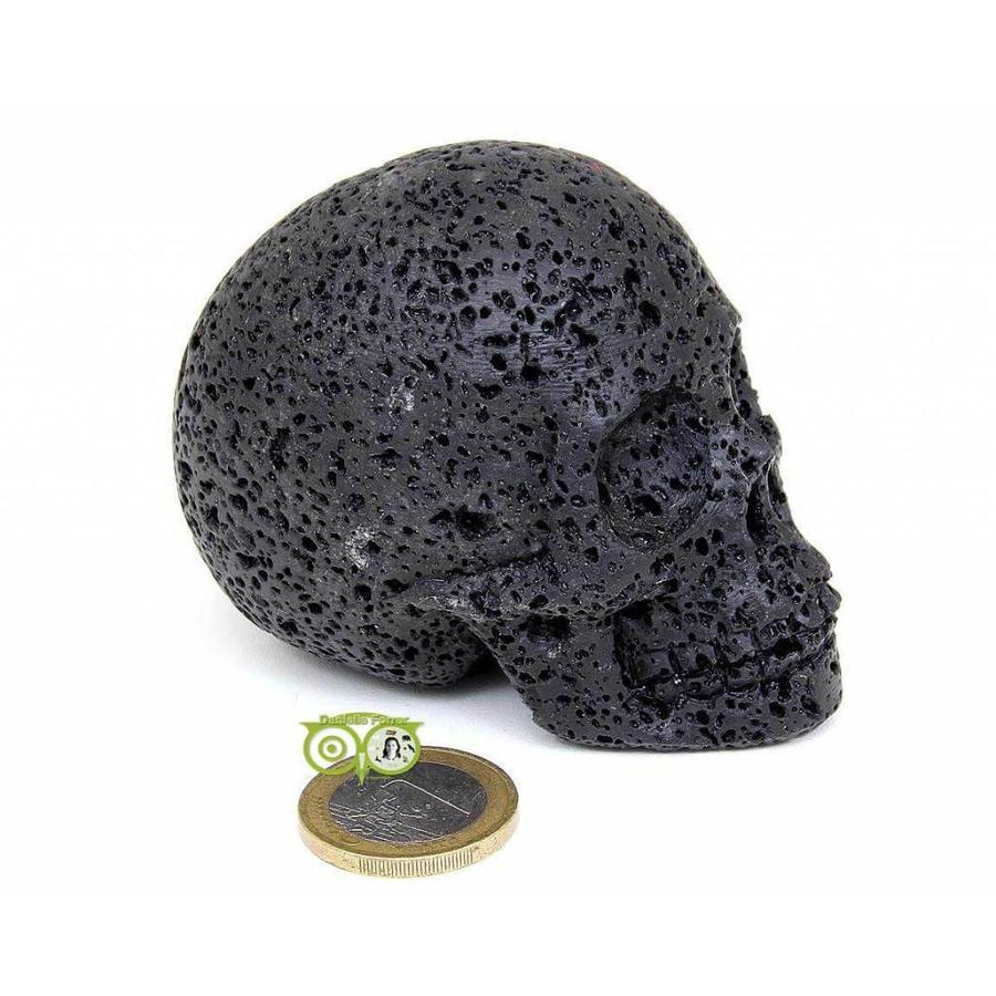 Lavasteen schedel 253 gram-1