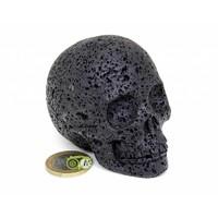 thumb-Lavasteen schedel 253 gram-2
