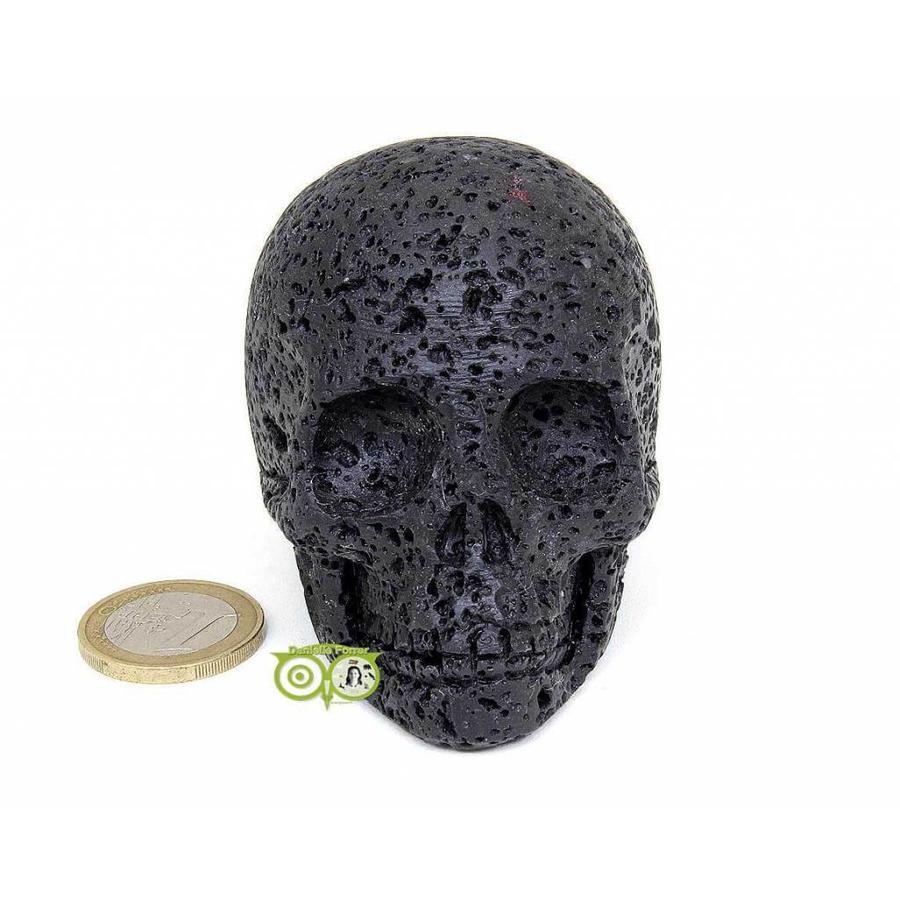 Lavasteen schedel 253 gram-3