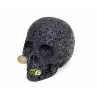 thumb-Lavasteen schedel 253 gram-4