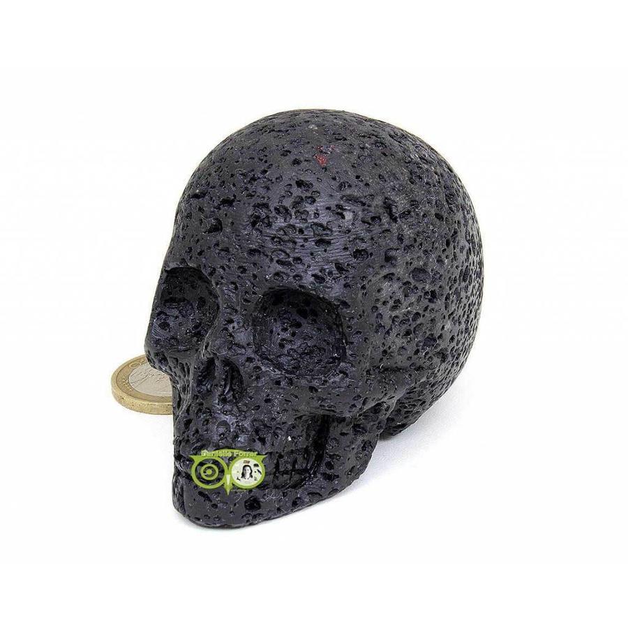 Lavasteen schedel 253 gram-4