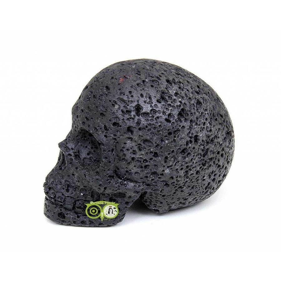 Lavasteen schedel 253 gram-5