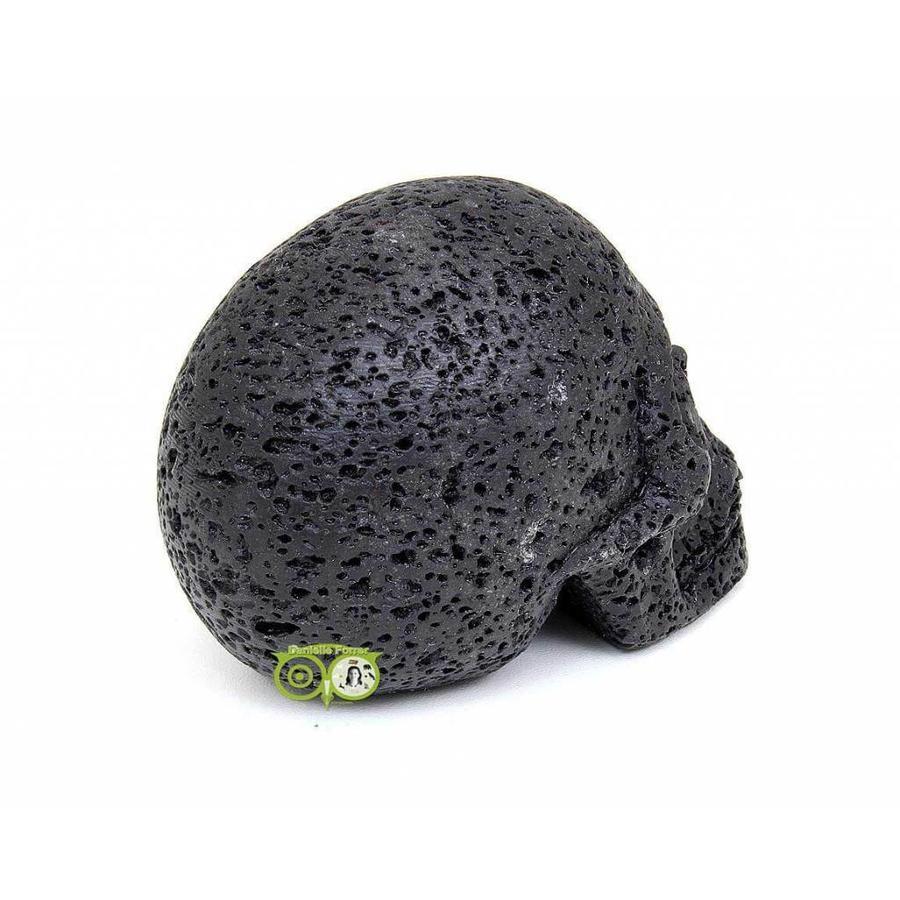 Lavasteen schedel 253 gram-8