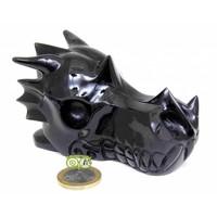 thumb-Obsidiaan draken schedel 297 gram-1