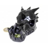 thumb-Obsidiaan draken schedel 297 gram-4