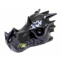 thumb-Obsidiaan draken schedel 297 gram-5