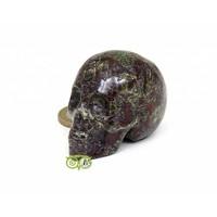 thumb-Drakenbloed Jaspis schedel 91 gram-1