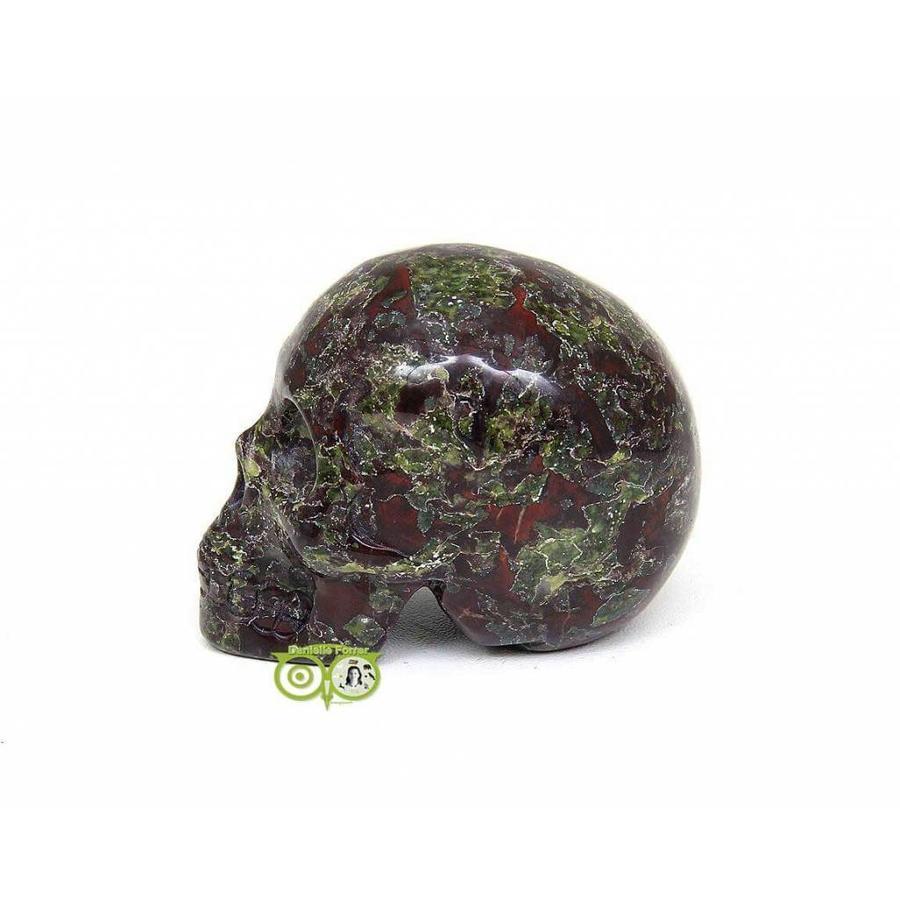 Drakenbloed Jaspis schedel 91 gram-2