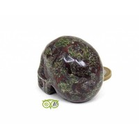 thumb-Drakenbloed Jaspis schedel 91 gram-6
