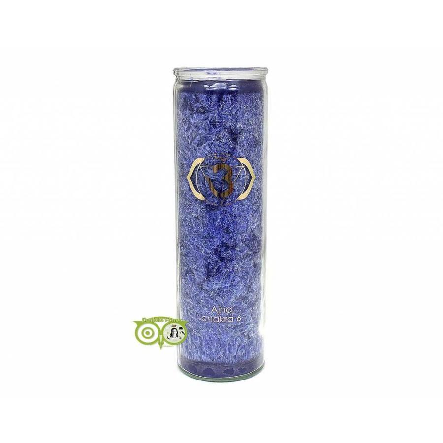 Geurkaars stearine - 6e chakra - Ajña - 100 uur-1