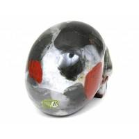 thumb-Bloedsteen (Heliotroop) schedel 320-7