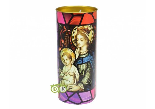 Devotiekaars Maria met Jezus