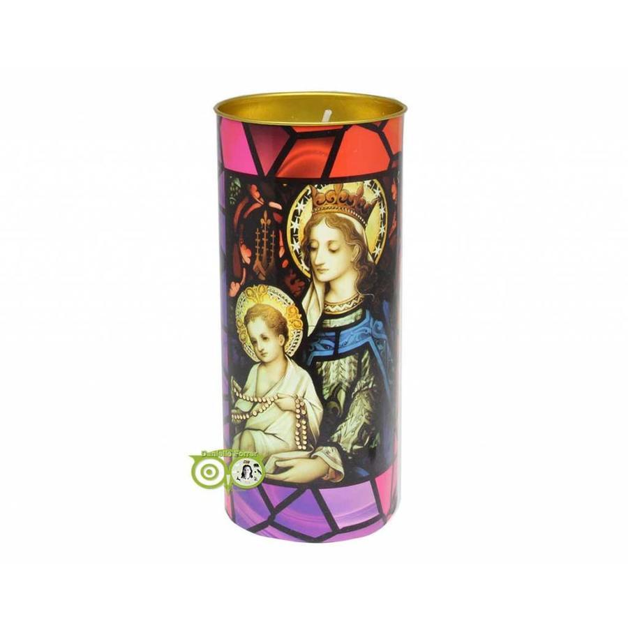Devotiekaars Maria met Jezus-1