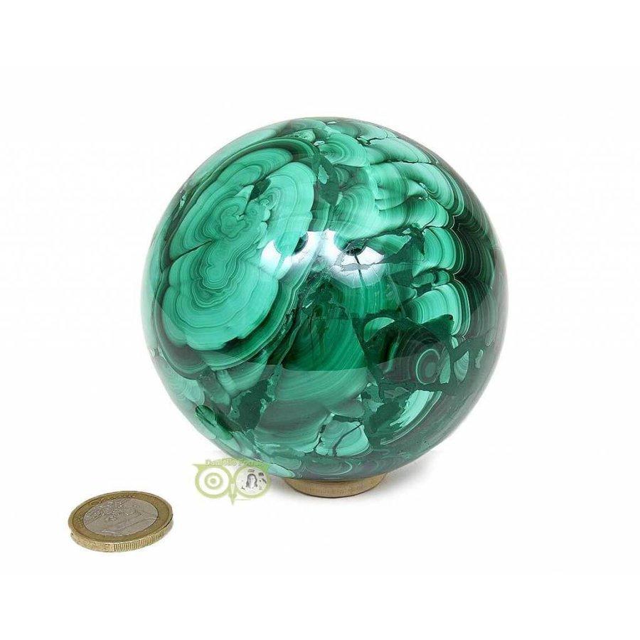 Malachiet mineralen bol 1032 gram-7