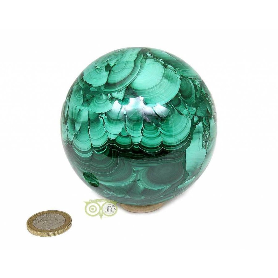 Malachiet mineralen bol 1032 gram-3