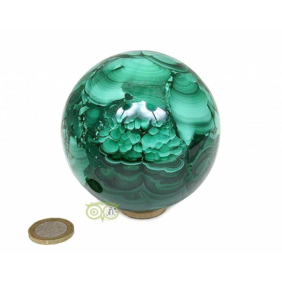 Malachiet mineralen bol 1032 gram-2