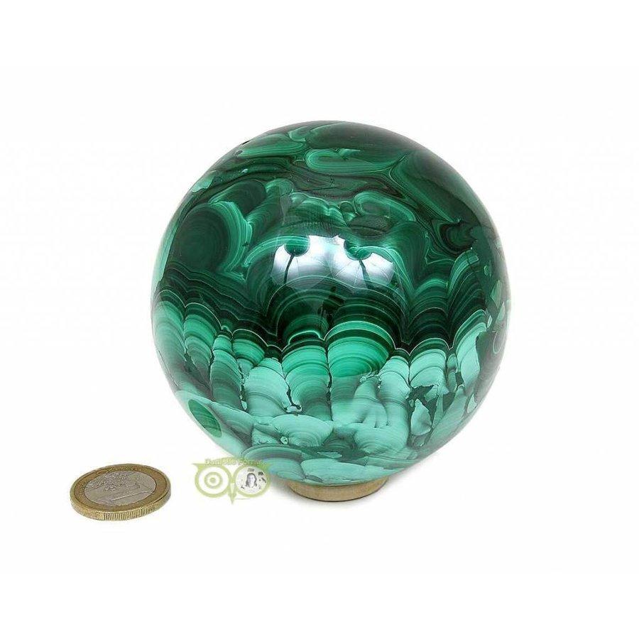 Malachiet mineralen bol 1032 gram-5