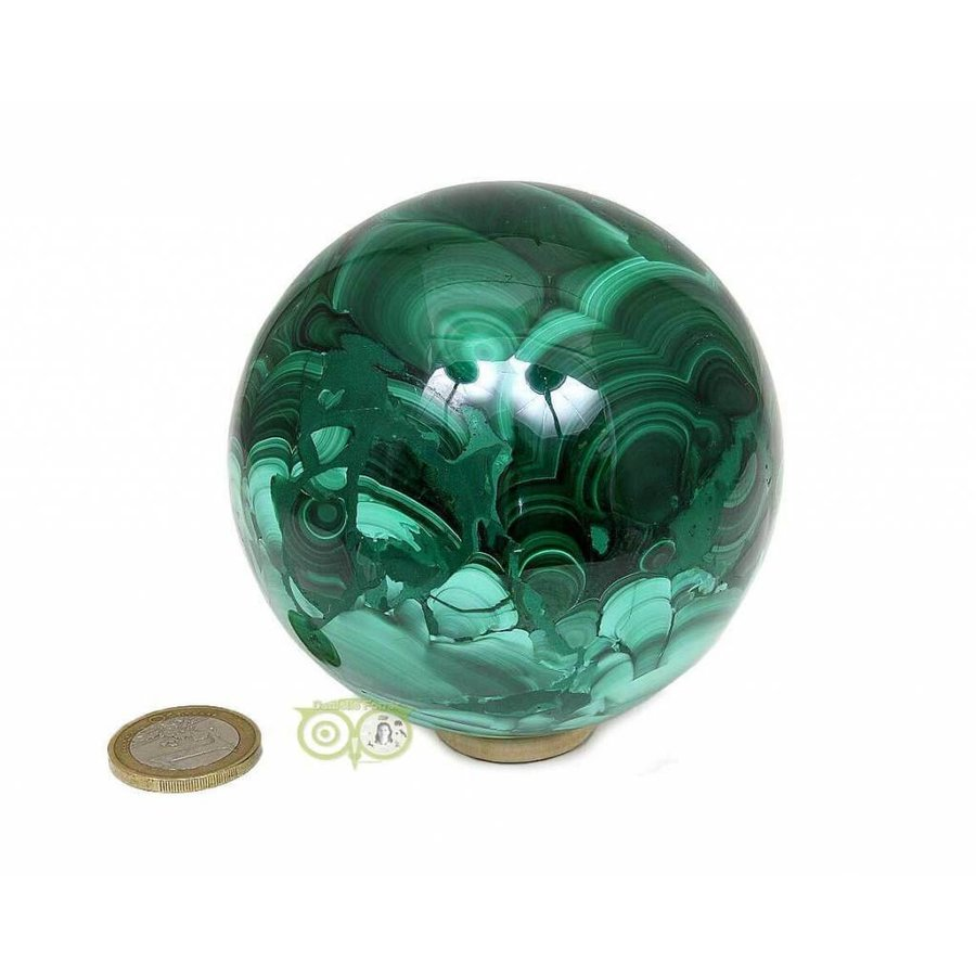 Malachiet mineralen bol 1032 gram-6
