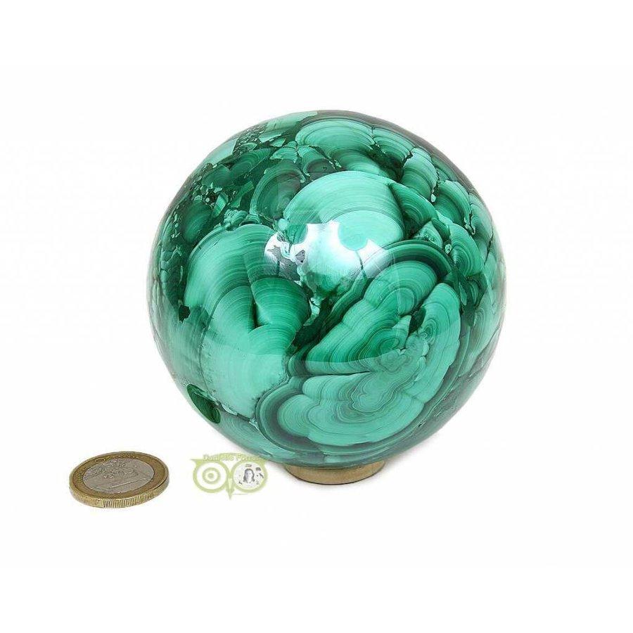 Malachiet mineralen bol 1032 gram-1