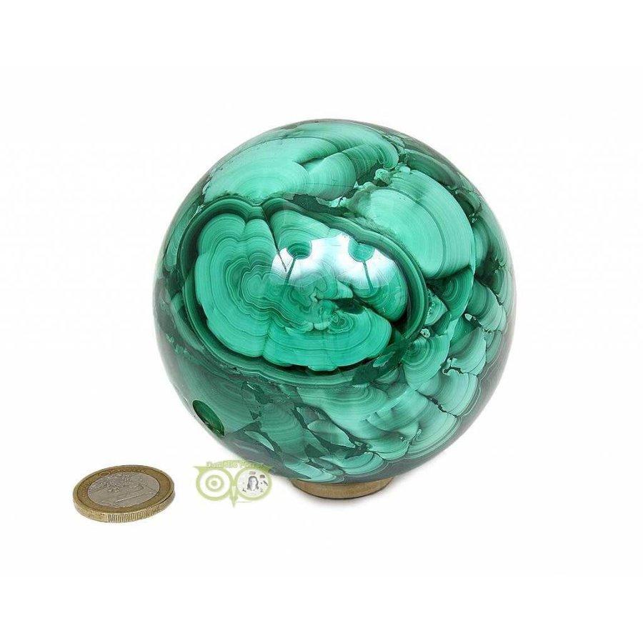 Malachiet mineralen bol 1032 gram-8