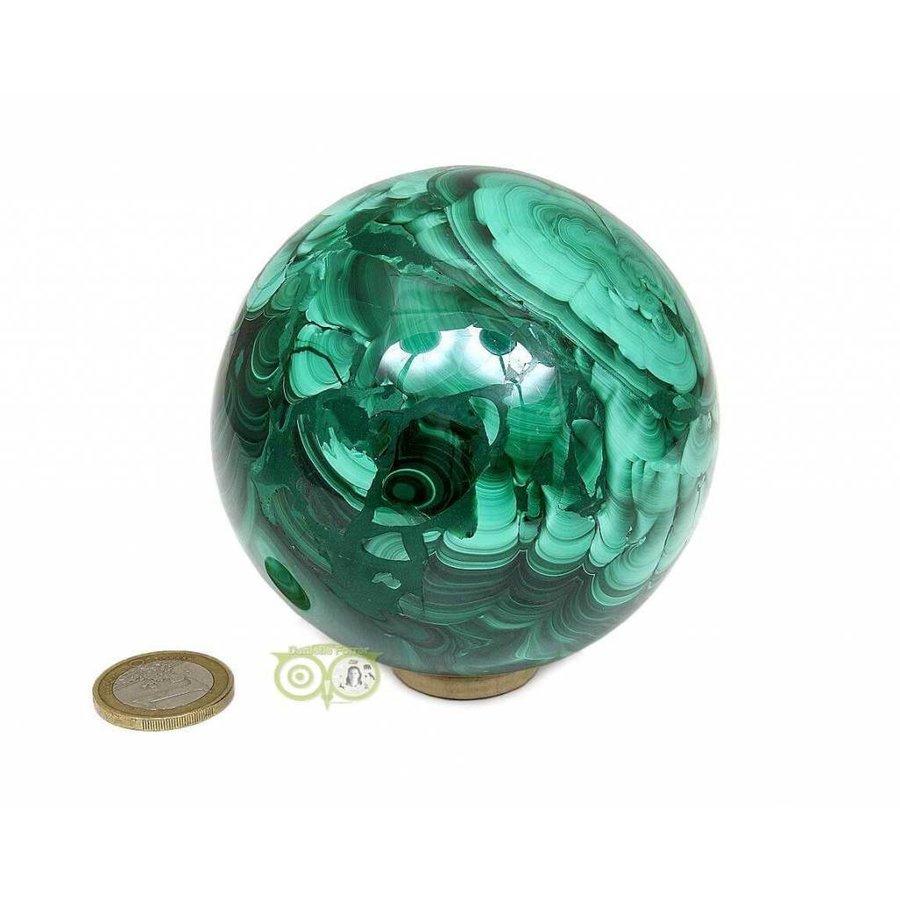 Malachiet mineralen bol 1032 gram-9