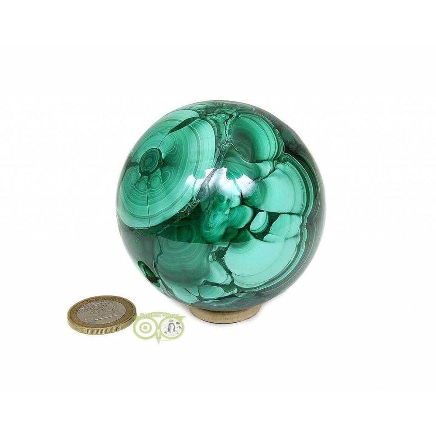 Malachiet mineralen bol 631 gram-2