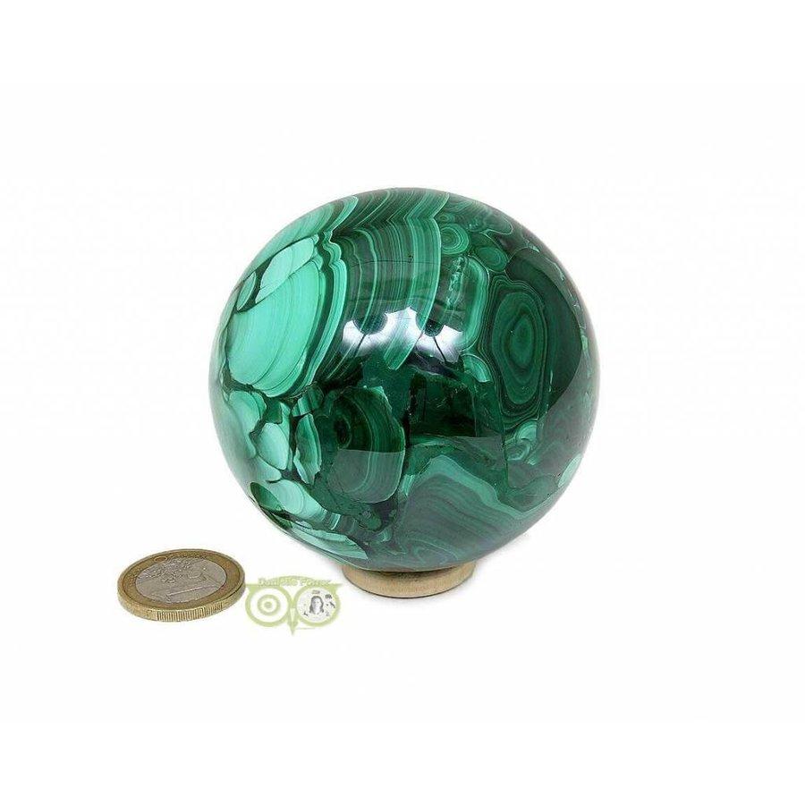 Malachiet mineralen bol 631 gram-3