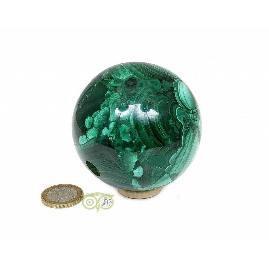 Malachiet mineralen bol 631 gram-4