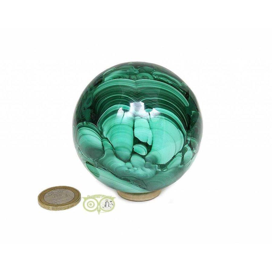 Malachiet mineralen bol 631 gram-5