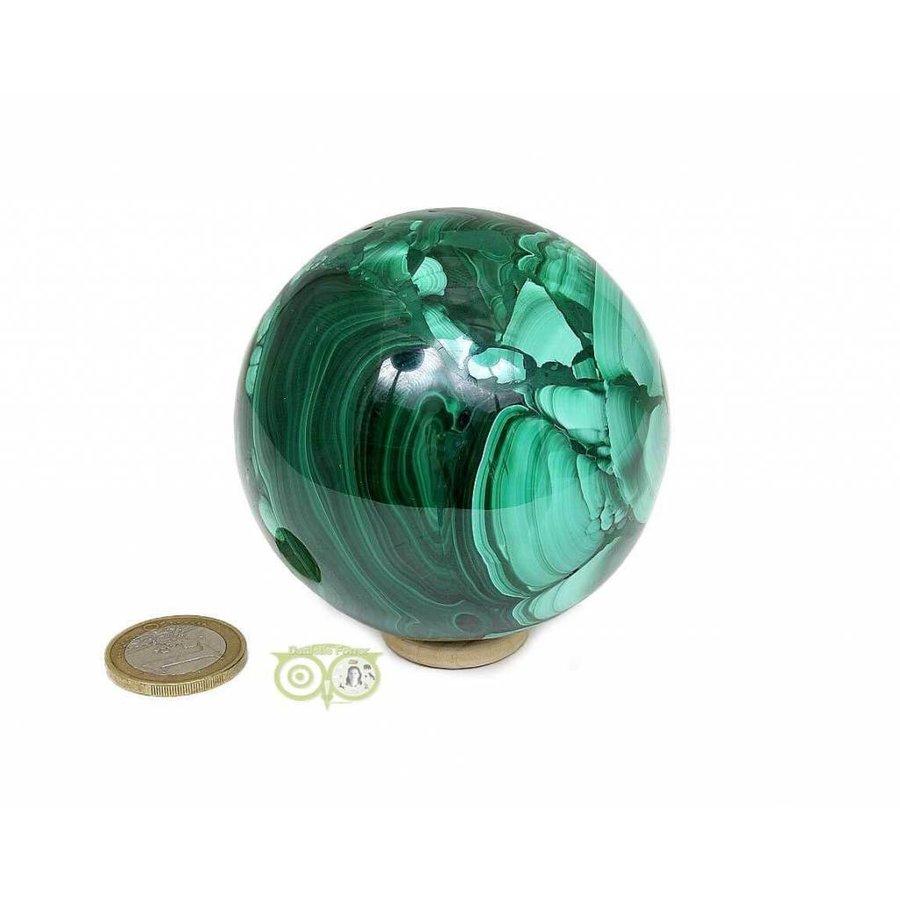 Malachiet mineralen bol 631 gram-6