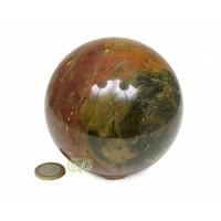 thumb-Jaspis Mineralen bol Nr 1 - 1,4 kg - 99 mm-3