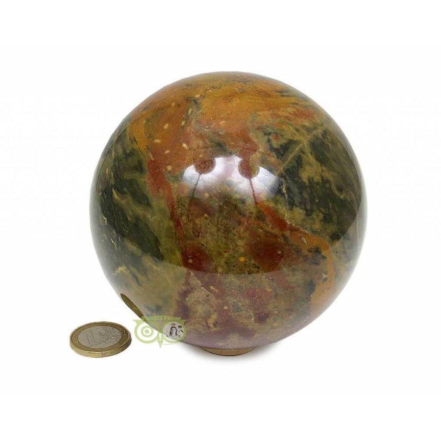 Jaspis Mineralen bol Nr 1 - 1,4 kg - 99 mm-2