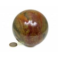 thumb-Jaspis Mineralen bol Nr 1 - 1,4 kg - 99 mm-1