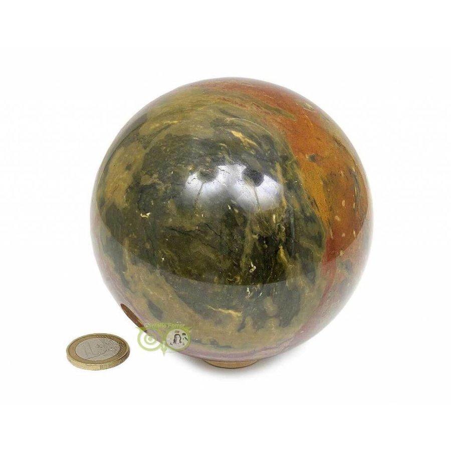 Jaspis Mineralen bol Nr 1 - 1,4 kg - 99 mm-4