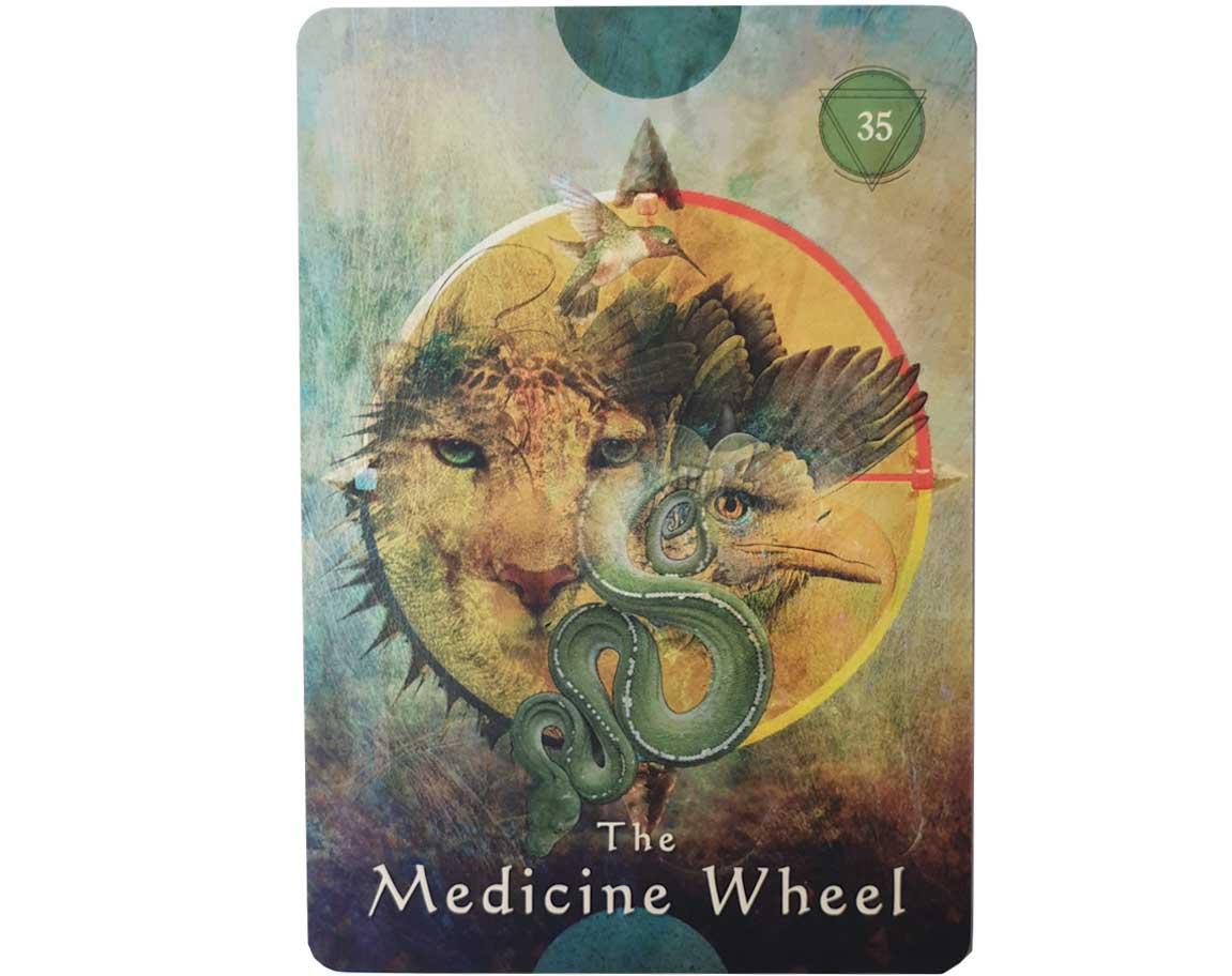 The Medicine Wheel | Mystical Shaman Oracle Cards Alberto Villoldo