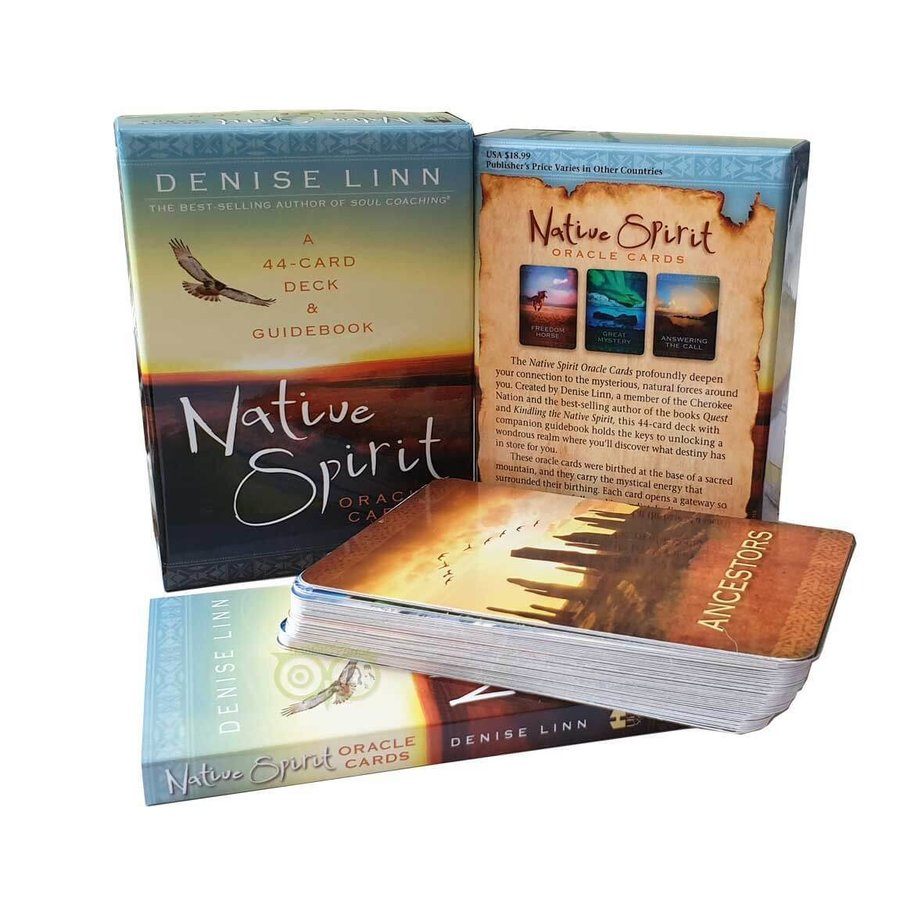 Native Spirit Oracle Cards  - Denise Linn-1
