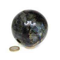 thumb-Labradoriet edelstenen bol 720 gram - 8 cm-2