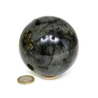 thumb-Labradoriet edelstenen bol 720 gram - 8 cm-3