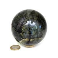thumb-Labradoriet edelstenen bol 720 gram - 8 cm-4