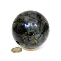 thumb-Labradoriet edelstenen bol 720 gram - 8 cm-5