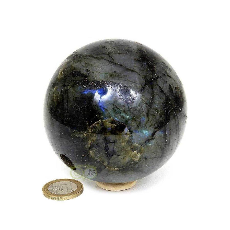 Labradoriet edelstenen bol 720 gram - 8 cm-5